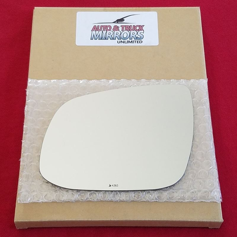 Mirror Glass + ADHESIVE for 11-13 Kia Forte Driver