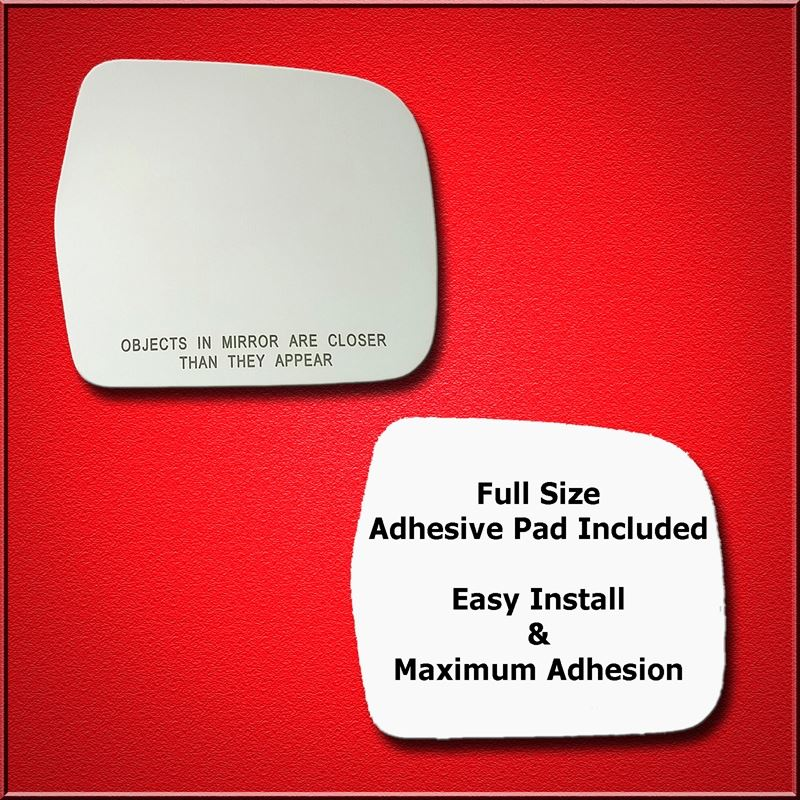 Mirror Glass Replacement + Full Adhesive for 90-95