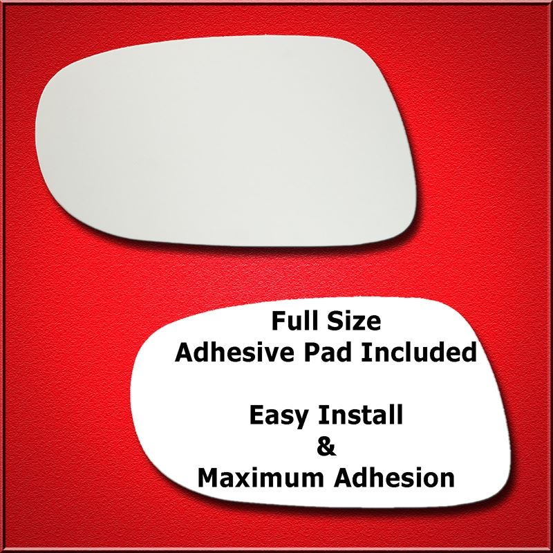 Mirror Glass Replacement + Full Adhesive for ES, I
