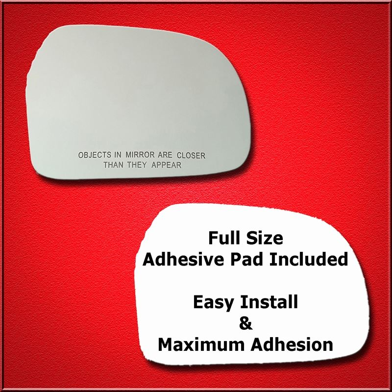 Mirror Glass Replacement + Full Adhesive for 99-04