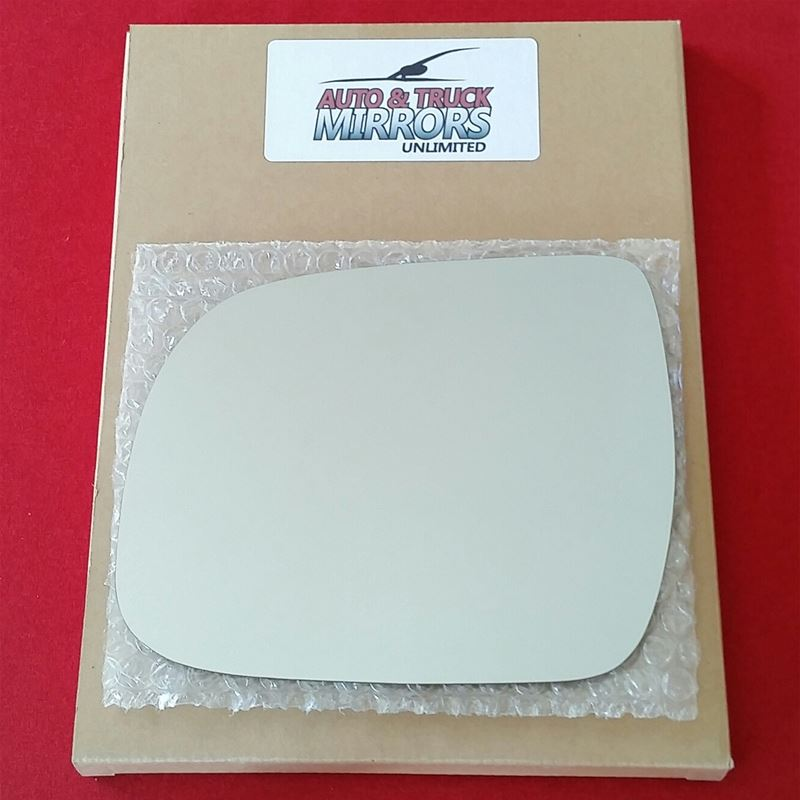 Mirror Glass + ADHESIVE for 08-13 Highlander Drive