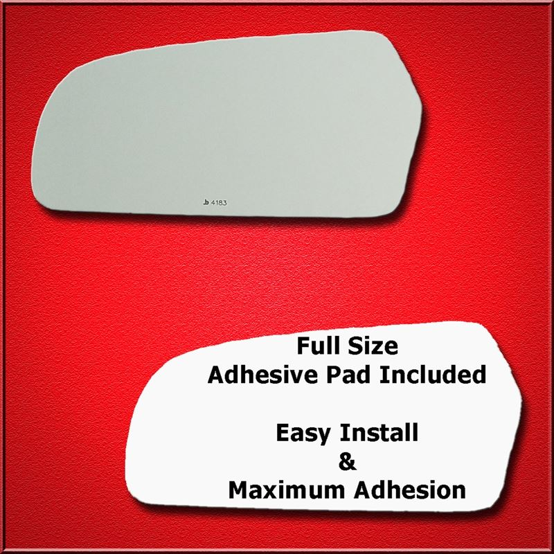 Mirror Glass Replacement + Full Adhesive for Kia M