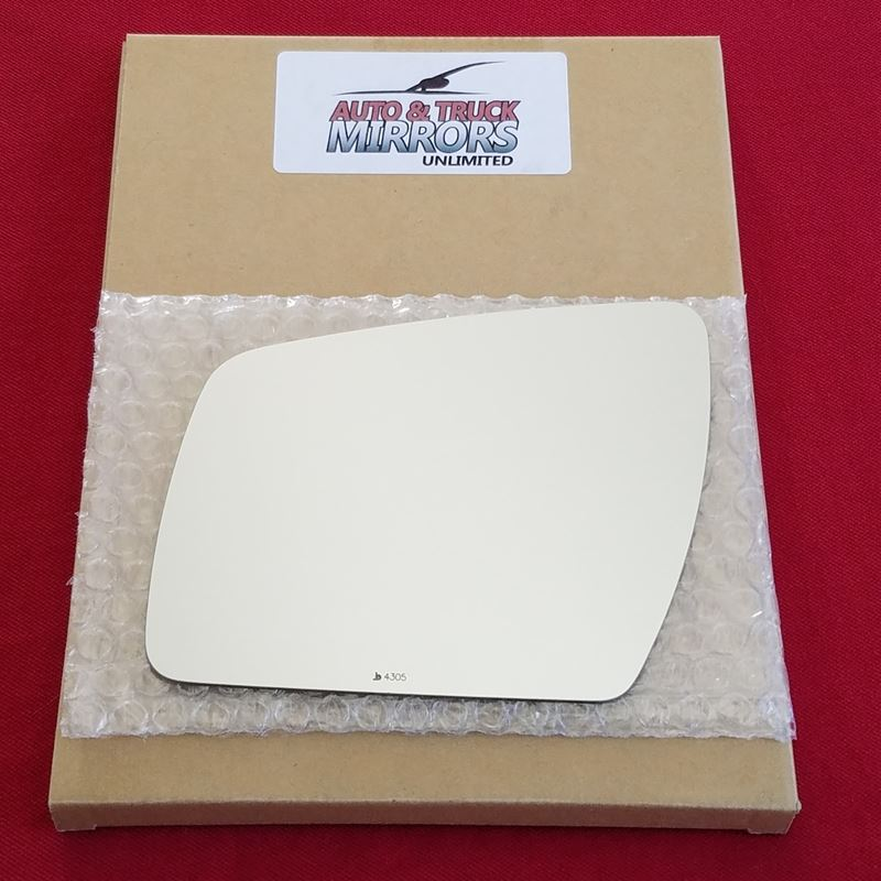 Mirror Glass + ADHESIVE for 10-13 Kia Soul Driver