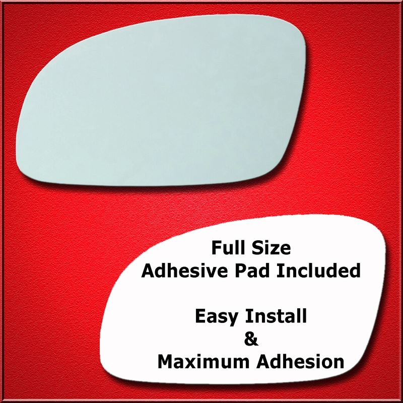Mirror Glass Replacement + Full Adhesive for Volks