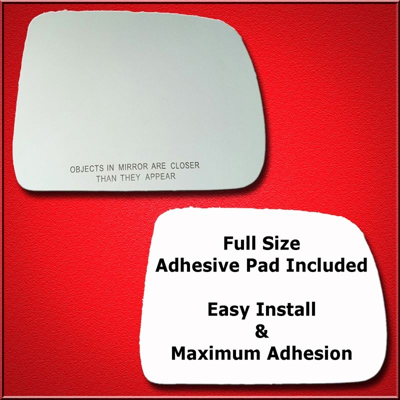 Mirror Glass Replacement + Full Adhesive for 04-11