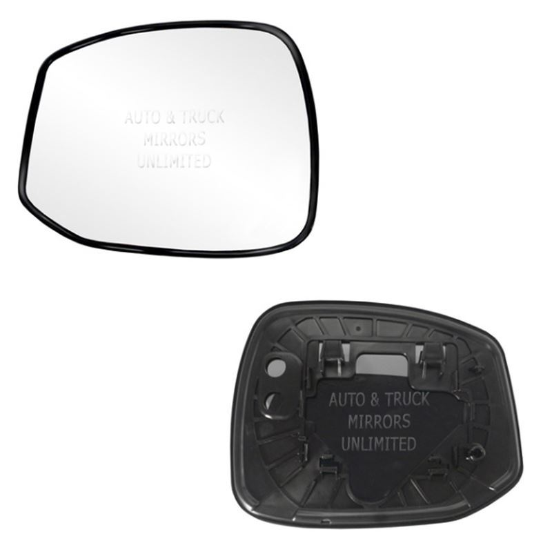 Fits 14-15 Honda Civic Driver Side Mirror Glass wi