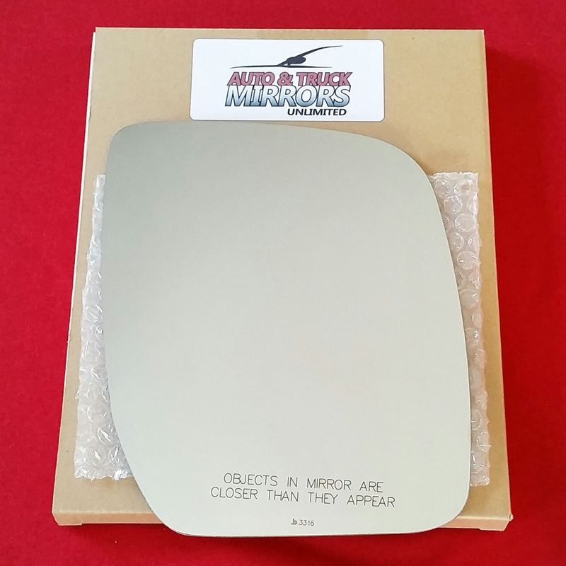Mirror Glass + ADHESIVE for 08-09 Ford E-150, E-25