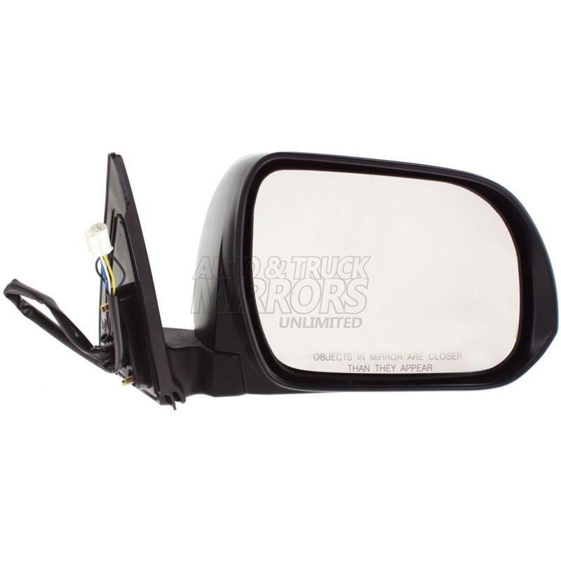 Fits 08-13 Toyota Highlander Passenger Side Mirror